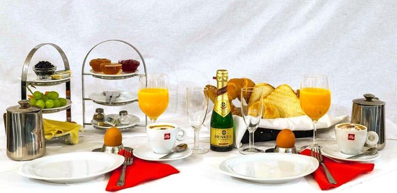 Bei Cafe Handl können Sie zwischen 12 Frühstücksmenüs wählen