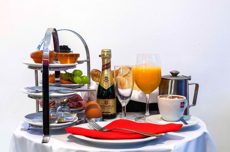Frühstück in Wien – großes Speisen- und Getränkeangebot